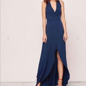 febc108290 MICKEY   JENNY Dresses - MICKEY   JENNY Suzette Wrap Dress Navy ...
